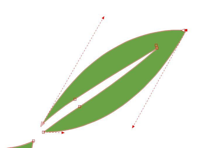bambuszlevél rajzolás